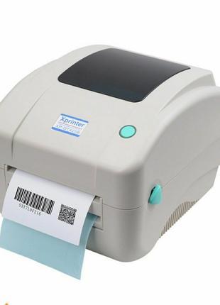 Термопринтер для печати этикеток Новой Почты, XP-DT425B (USB) New