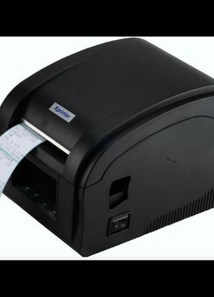 USB Термо принтер этикеток и чеков Xprinter XP-360B Новые