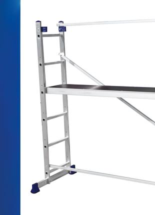 Лестница помост алюминиевый