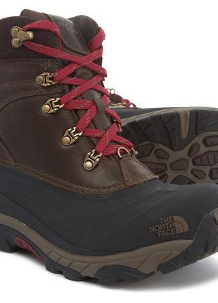 Зимние непр-емые ботинки кожа the north face chilkat ii luxe -32C