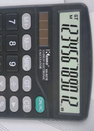 Калькулятор 15 на 12 см на пальчиковой батарейке