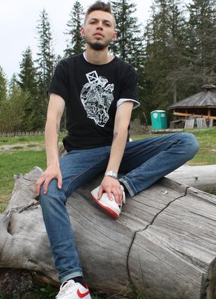 "Футболка из 100% хлопка молодежного бренда одежды""White_Zebra"""