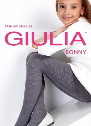 Колготки для девочек с объёмным узором BONNY 80 den (model 18)