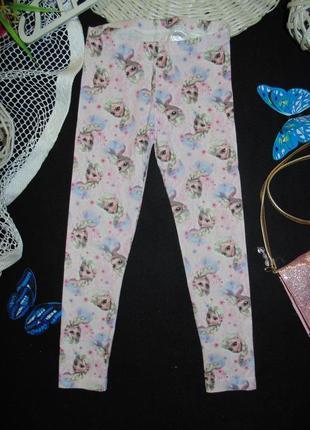 3-4года.модные лосины disney frozen.мега выбор обуви и одежды