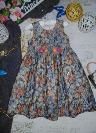 6лет.шикарное платье pippa & julie.мега выбор обуви и одежды