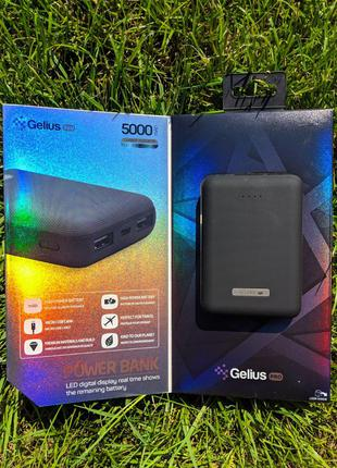 Power Bank Gelius Pro Soft GPPBS5 G2 5000mAh Black