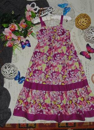 7лет.шикарный сарафан tu.мега выбор обуви и одежды