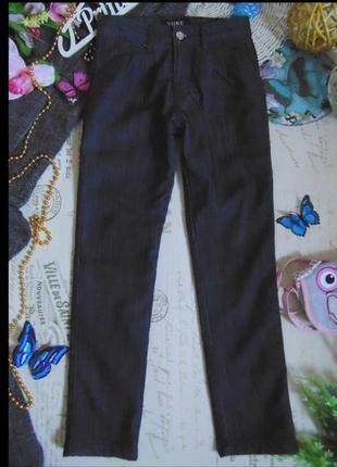 8лет.моднячие джинсы на флисе yuke.мега выбор обуви и одежды!