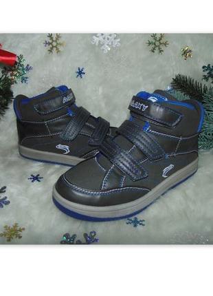 Бомбезные ботинки agaxy 35р,по стельке 22,5 см.мега выбор обув...