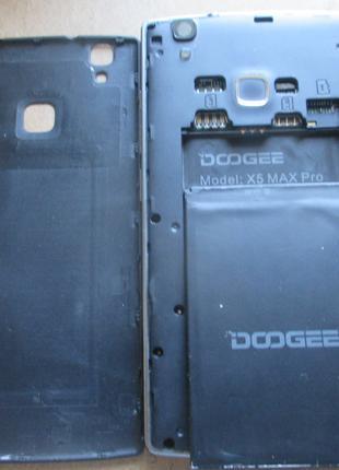 Doogee x5 max pro остатки дисплей