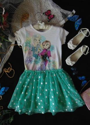 6лет.нарядное платье disney .mега выбор обуви и одежды!