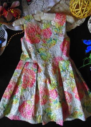 5лет.шикарное платье tu.мега выбор обуви и одежды!