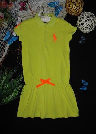 8-10лет. бомбезное платье поло ralph lauren .мега выбор обуви ...