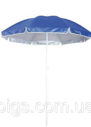 Пляжный зонт от солнца 2м с наклоном Anti-UF