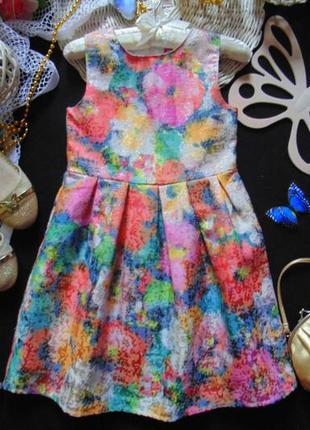 6-7лет.нарядное платье young dimension mега выбор обуви и одежды!