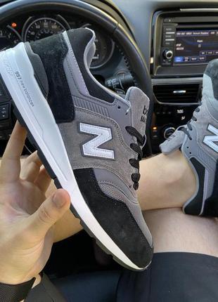 New balance 997 black gray