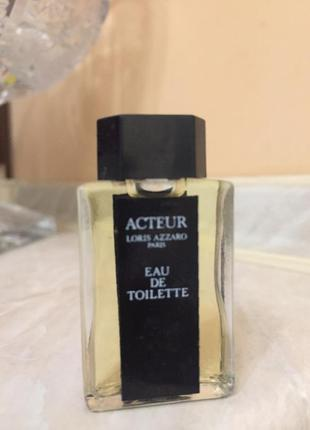 Туалетная вода azzaro acteur винтаж