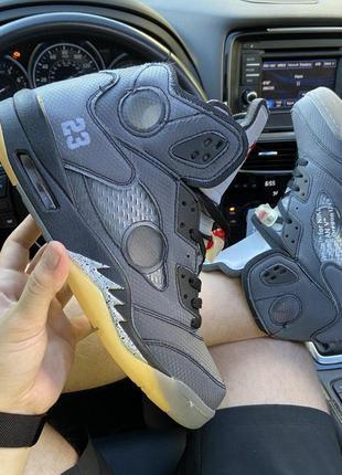 Nike air jordan v retro x off-white