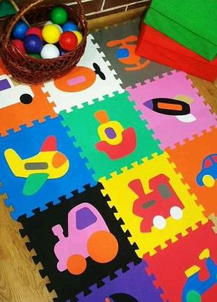 Детские напольные модульные пазлы,развивашки