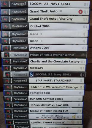 Ігри ps2 (Playstation 2)