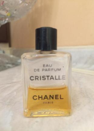 Туалетная вода chanel cristall винтаж