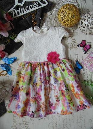 3-4года.шикарное нарядное платье george.mега выбор обуви и оде...