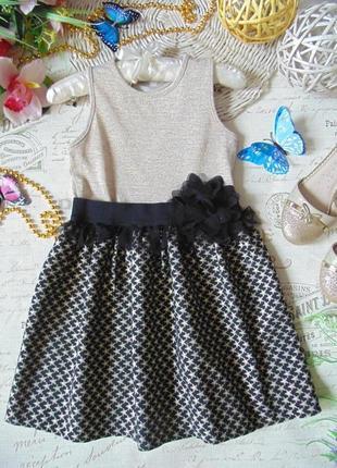 6-7лет.бомбезное платье nutmeg.mега выбор обуви и одежды