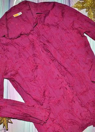 Блуза с вібитім принтом р,46-48