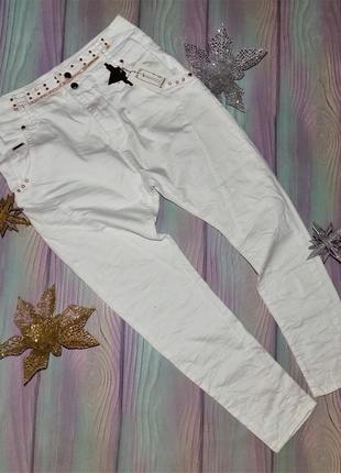 Новые женские белые джинсы бойфренды original denim 38р евро