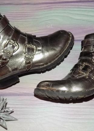 Демисезон ботинки кожа 37 р