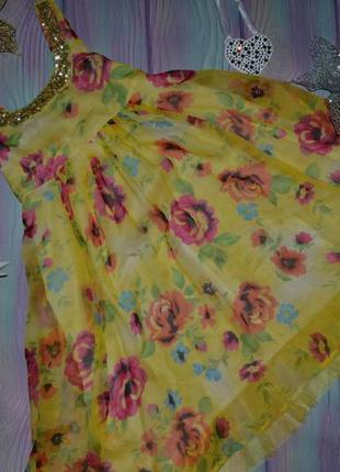Платье красивое на 11-12 лет - сост отл