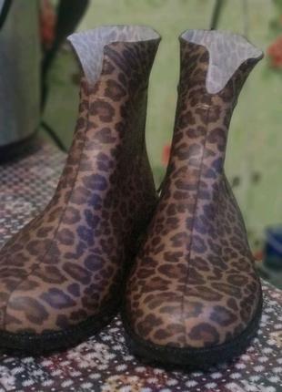 Стильные женские резиновые сапоги