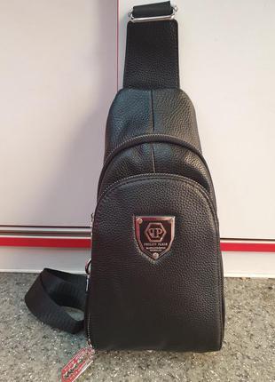 Стильная  мужская сумка - рюкзак/ кроссбоди/ рюкзак на одном ...