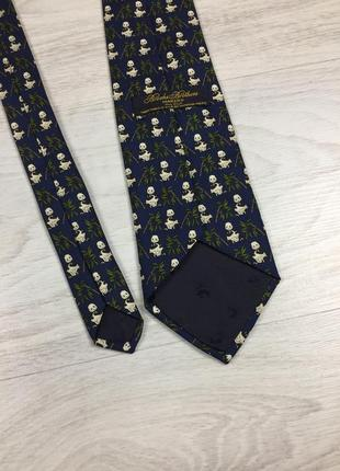 Красивый оригинальный галстук с пандами! brooks brothers silk