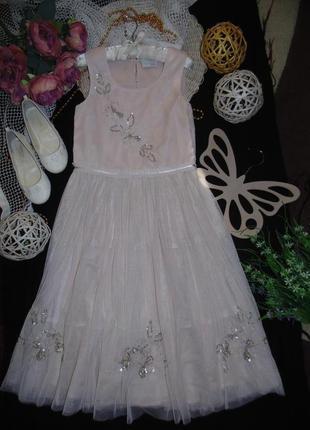 Шикарное нарядное платье next .мега выбор обуви и одежды