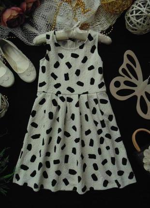 6-8лет.фактурное платье сарафан h&m.мега выбор обуви и одежды!