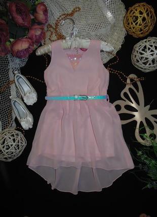 Hарядное шифоновое платье .мега выбор обуви и одежды!
