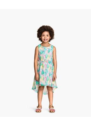 Модное шифоновое платье h&m.мега выбор обуви и одежды!