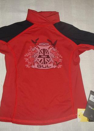 Солнцезащитная футболка gul p.js spf 50+ р.7-8лет