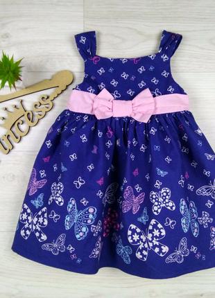 Платье на девочку 1-1,5 года