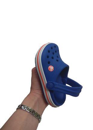 Детские сабо сандали босоножки crocs c5 crocsband