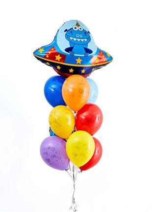 Декор шары фольга гирлянда для детского дня день рождения космос