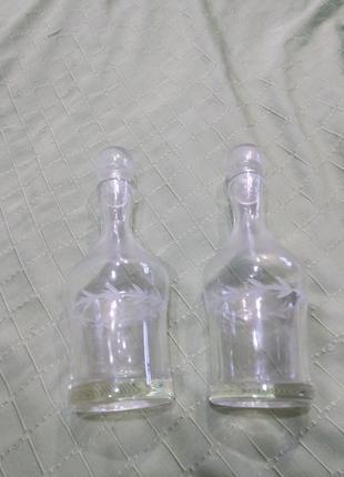 Два графина штофа для алкоголя СССР