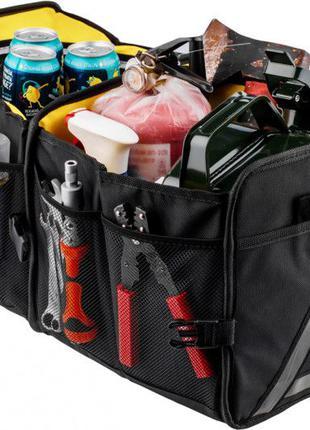 Органайзер автомобильный в багажник Smart&Simple с охлаждающим...