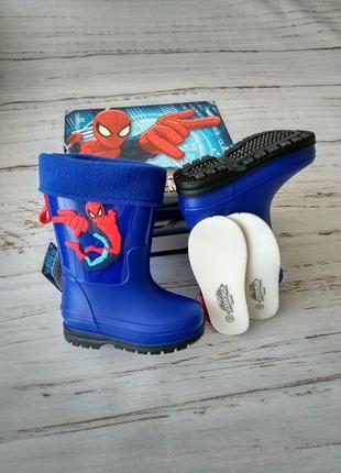Резиновые сапоги для мальчиков из серии marvel spider-man 26p/...
