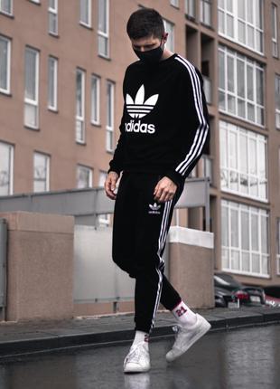 Мужской спортивный костюм Adidas Trine черный
