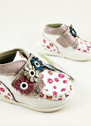 Ботинки для крошечных девочек от тм шалунишка ортопед 19p !!!п...