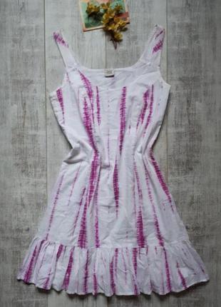 Летний сарафан платье 100% коттон
