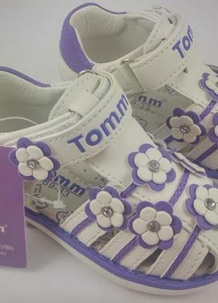 Босоножки для девочек  тм tom.m 25p !!!последняя пара!!!