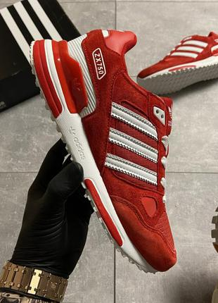 Кроссовки adidas zx 750 red whtie